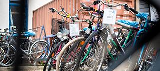 Fahrradbasar in der Nordstadt
